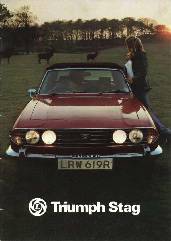 Triumph Stag advert. A real low-point in ad agency creativity.