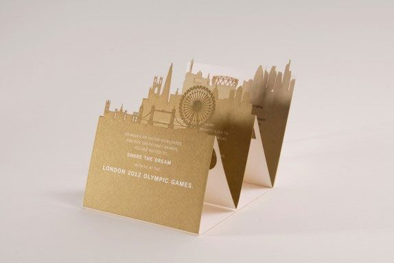Hilton Worldwide VIP London Olympics Invitation