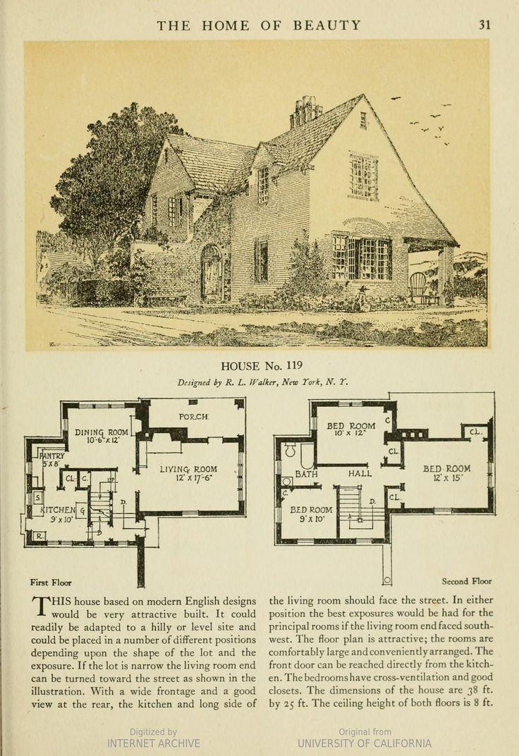 Brick homes blueprints - The American Face Brick Association Image Of Page 31