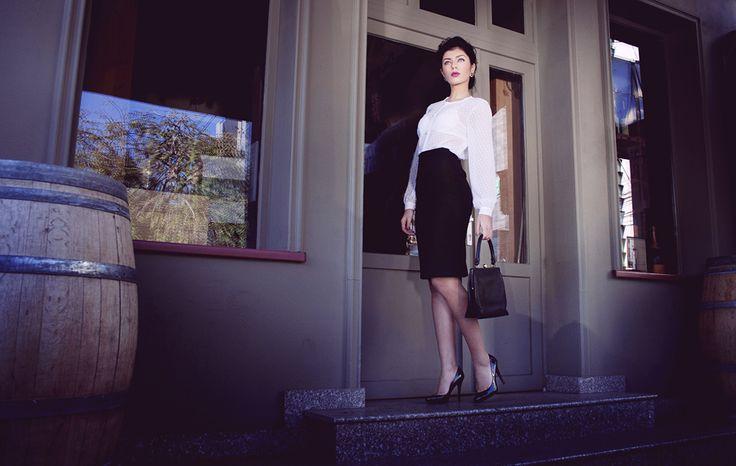Maigre shirt and skirt http://www.facebook.com/MaigreBoutique