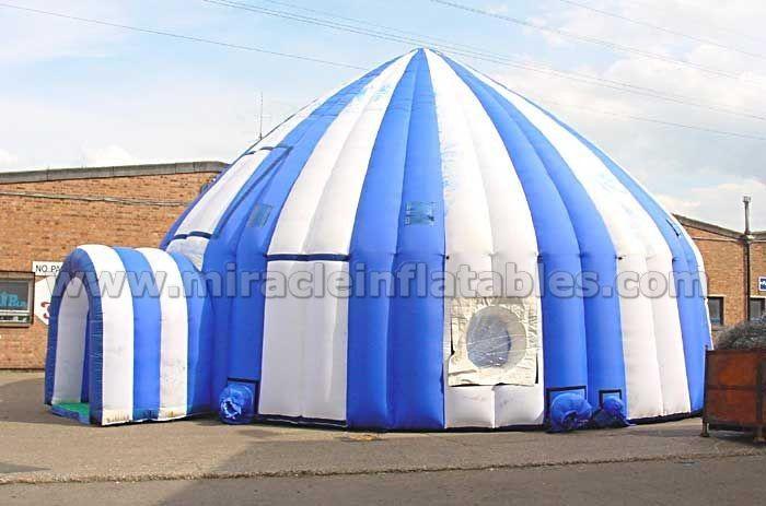 Tende da campeggio gonfiabile, gigante gonfiabile tenda a cupola C1010