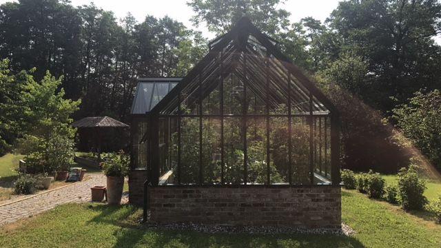 """englische Gewächshäuser von Hartley Botanic """"Viktorian"""