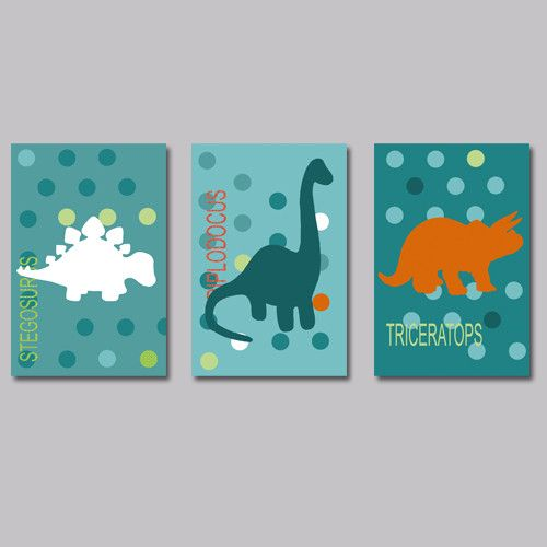 décoration sympa et colorée pour chambre d'enfant avec des dinosaures, dinos, cadeau dino, cadeau garçon, cadeau enfant