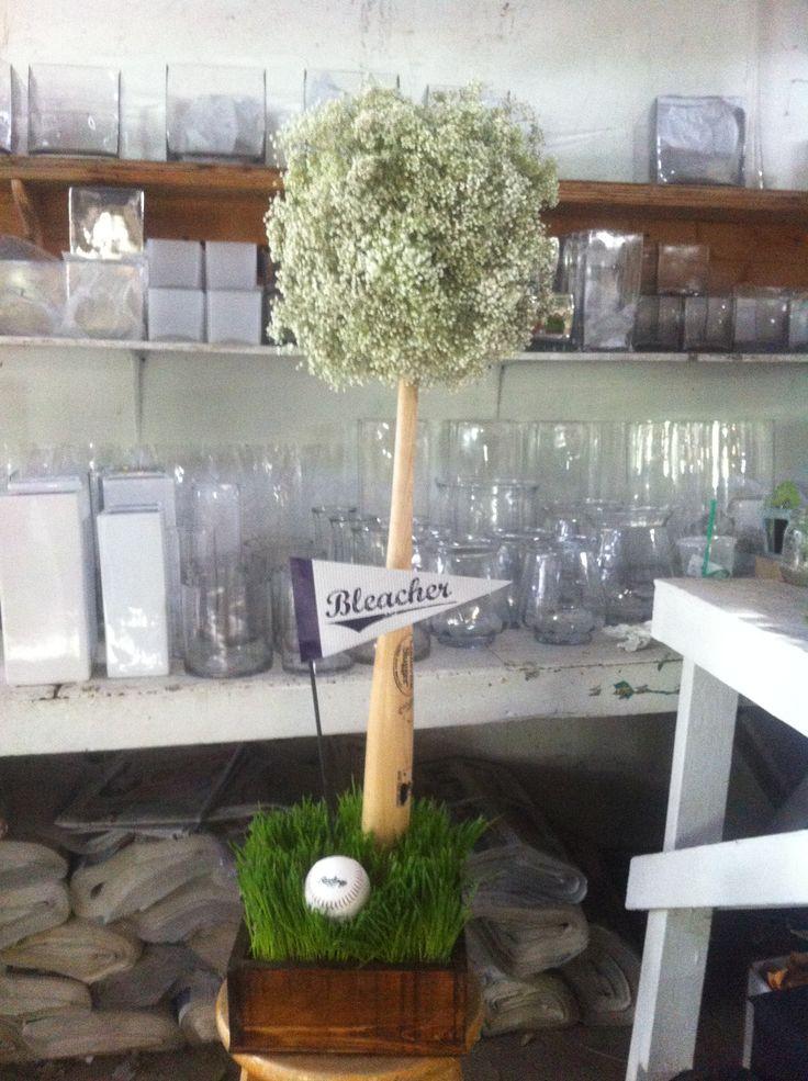 15 best gfbll baseball centerpieces images on pinterest baseball baseball wedding by karen crawford junglespirit Images