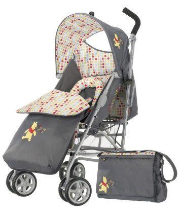 OBaby Disney Winnie The Pooh Stroller Bundle - Grey