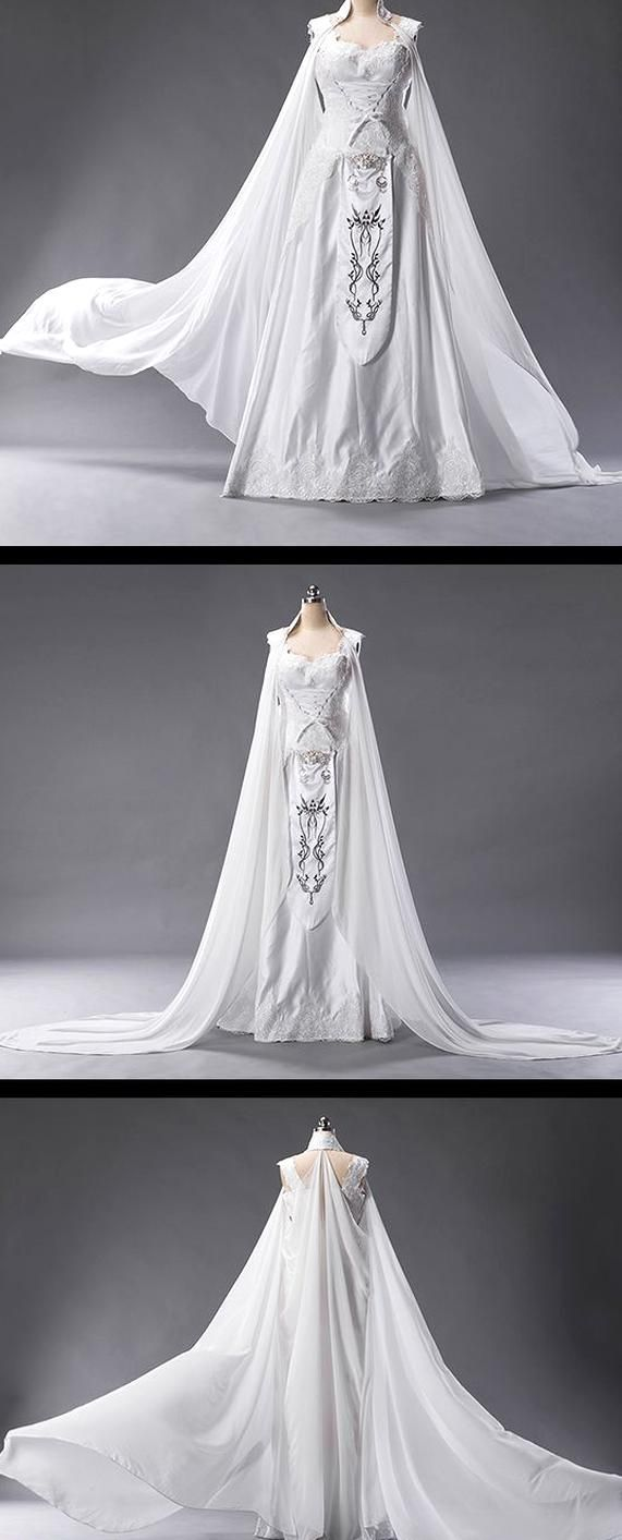 Now A The Legend Of Zelda Breath Of The Wild Inspired Wedding Can Be Yours If The Bride T Vestidos De Novia Medievales Vestidos De Novia Vestidos De Fantasia