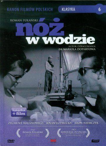 Polish Movie Canon: Knife in the water (Noz w wodzie), PAL, Region 2 by Jolanta Umecka http://www.amazon.com/dp/8362086254/ref=cm_sw_r_pi_dp_Xpw2tb1PD7BBSZ05