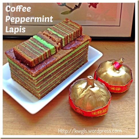 How About Another Type Of Lapis–Coffee Peppermint Lapis | GUAI SHU SHU