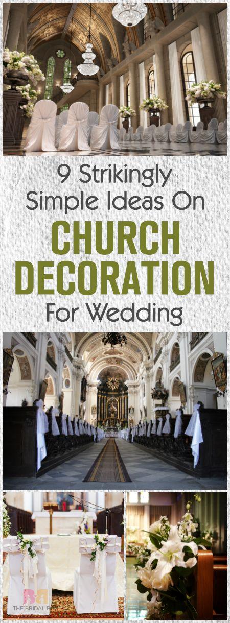 1000 Ideas About Simple Church Wedding On Pinterest