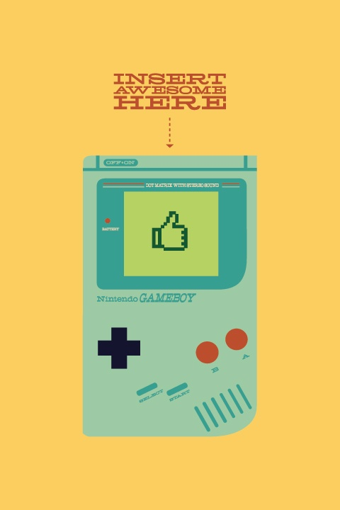 Video Game Character Illustrations by Andrew Heath - Gameboy #nintendo