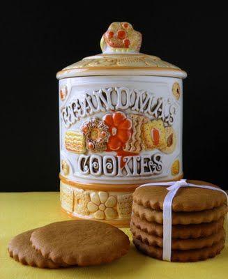 Grandma's Old Fashioned Molasses Cookies - Big, soft molasses cut-out cookies that my grandma used to make. by Jill {www.dulcedough.com}