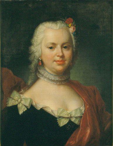 Mányoki, Ádám Baroness Swihowska, née Grundmann  1747
