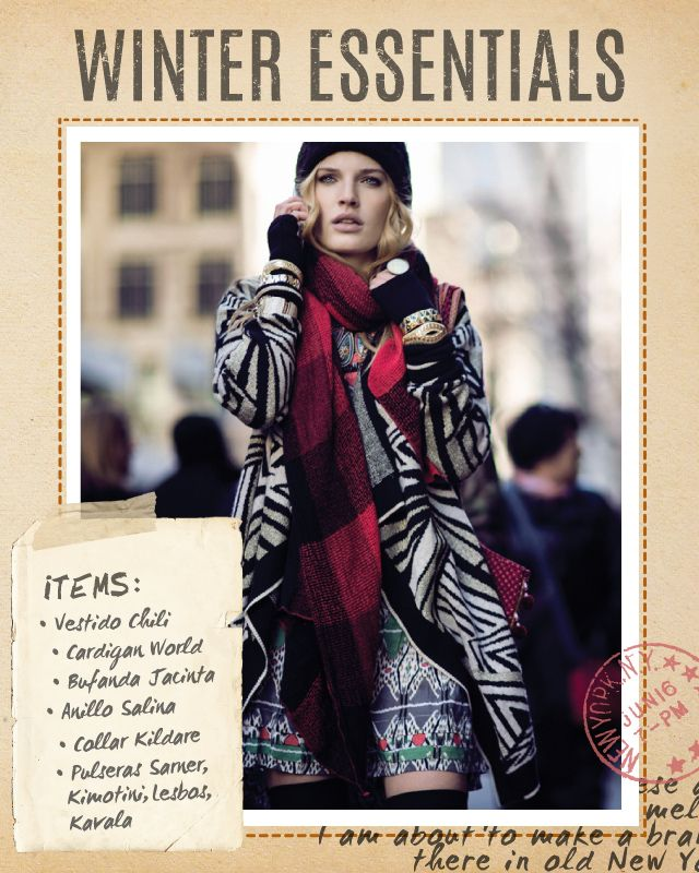 Vestido Chili / Cardigan World / Bufanda Jacinta / Anillo Salina / Pulseras: Sarner, Kimotini, Lesbos, Kavala / Collar Kildare #winteressentials #indiastyle