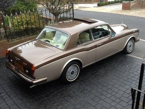 Rolls-Royce Corniche 2 door coupe