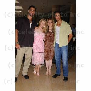 Victor Webster, Alison Sweeney, Melissa Reeves and Matt Cedeno Photo by Miranda Shen Runway For Life Celebrity Fashion Show at the Beverly Hilton Hotel May 11, 2002 - Beverly Hills, California CelebrityPhoto.com 2002 All Rights Reserved P.O. Box 1560 Bev VICTOR WEBSTER, ALISON SWEENEY, MELISSA REEVES AND MATT CEDENO  Celebrity Photo Syndication of Hollywood Celebrity Photos since 1970