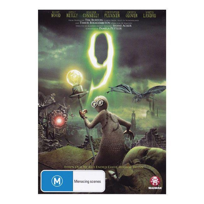 9 DVD 3  Brand New Region 4 Australia - Animated Fantasy Epic - Elijah Wood