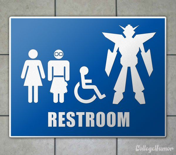 If Comic Conventions Had Warning Signs - Image 1