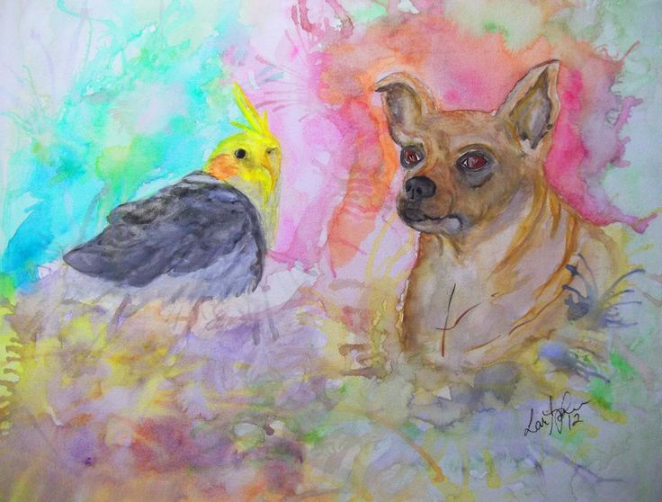 #MyPets #Watercolor