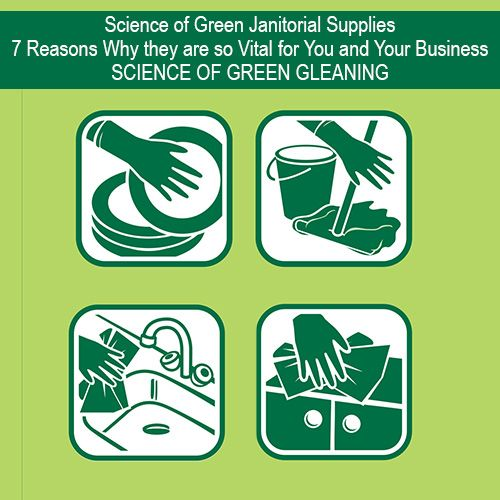 Science of Green Janitorial Supplies-7 Reasons Why they are so Vital for You and Your Business   Green Janitorial Cleaning