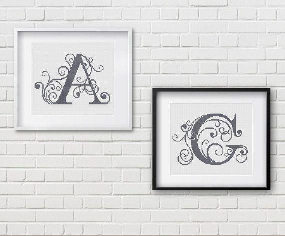 Cross Stitch Pattern  Alphabet  Cross Stitch  от PatternsTemplates
