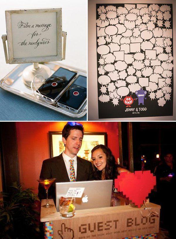 guestbook matrimonio geek