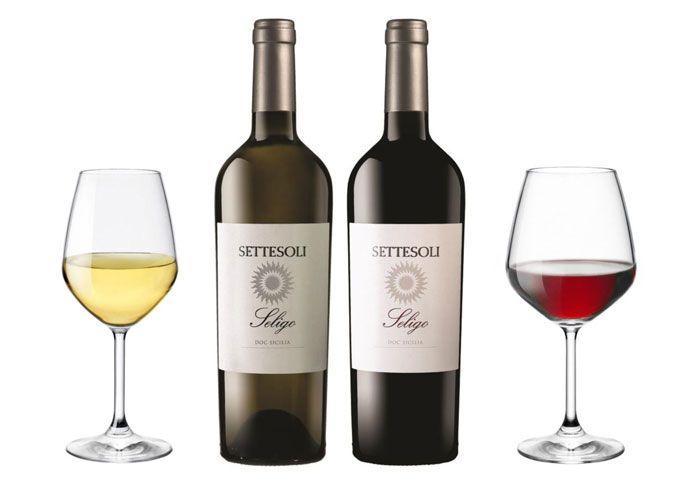 Cantina Settesoli: Seligo vince l'Oscar - Seligo Bianco e Seligo Rosso di Cantina Settesoli premiati dalla guida dei vini del Gambero Rosso.