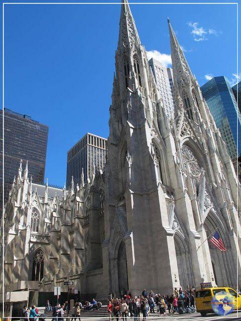 Viagens e Beleza: St. Patrick, a catedral gótica da 5ª Avenida!