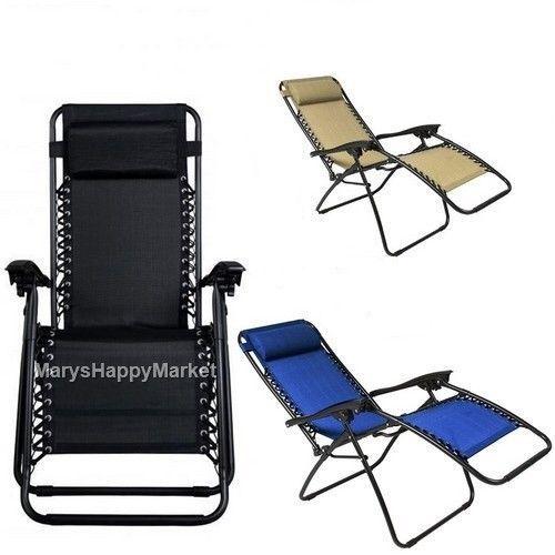 Metal Pool Lounge Chair Foldable Adjustable #Blue #Relax #Cushion Patio #Furniture #Metal #Pool #Lounge #Chair #usa #ebay #sales #marketing