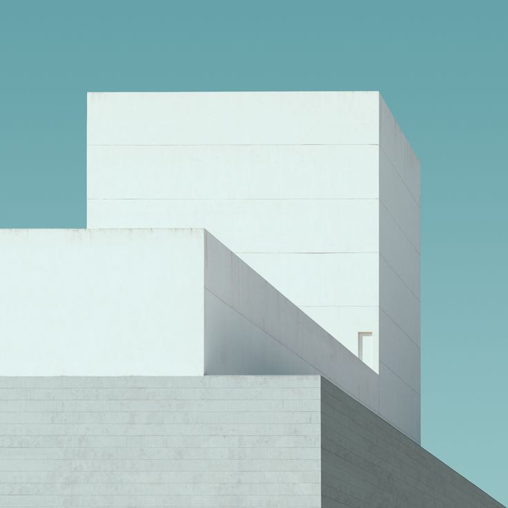 Jeroen Peter's clean and minimalist architectural photography.