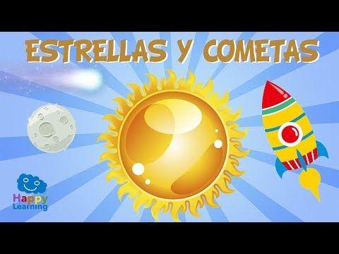 Estrellas y Cometas | Canciones Educativas para Niños. - YouTube