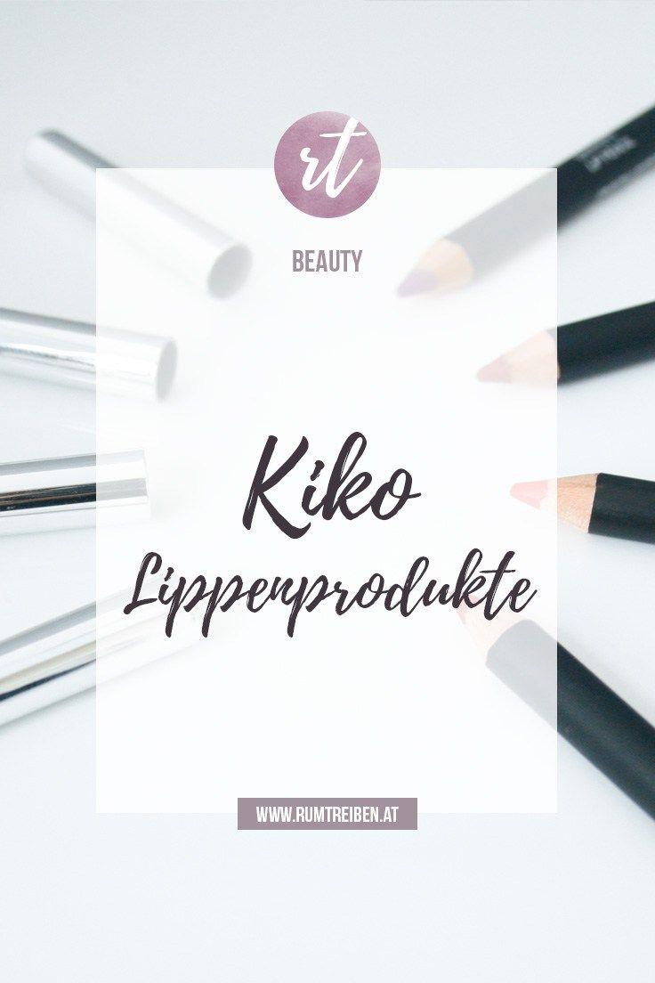 Ich zeige euch verschiedene Kiko Lippenprodukte (Lipliner, Lippenstifte, Lipglosse) inkl. Swatches.