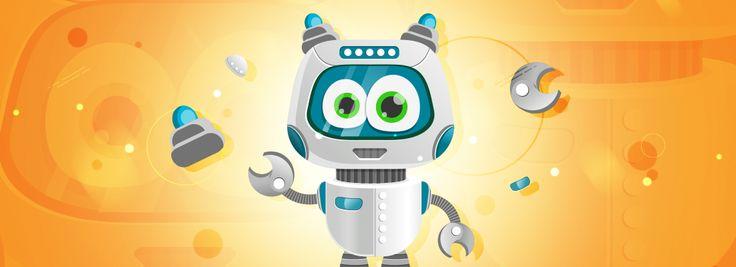 Simple Vector Robot Character In Illustrator (Tutorial + Freebie)