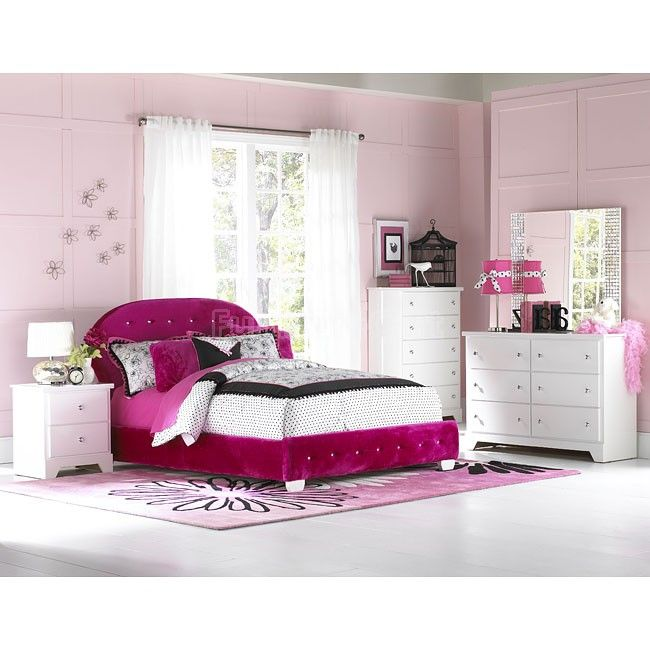 Marilyn Bedroom Set w  Watermelon Bed64 best Room Fit For A Princess images on Pinterest   Bedroom sets  . Pink Bedroom Set. Home Design Ideas
