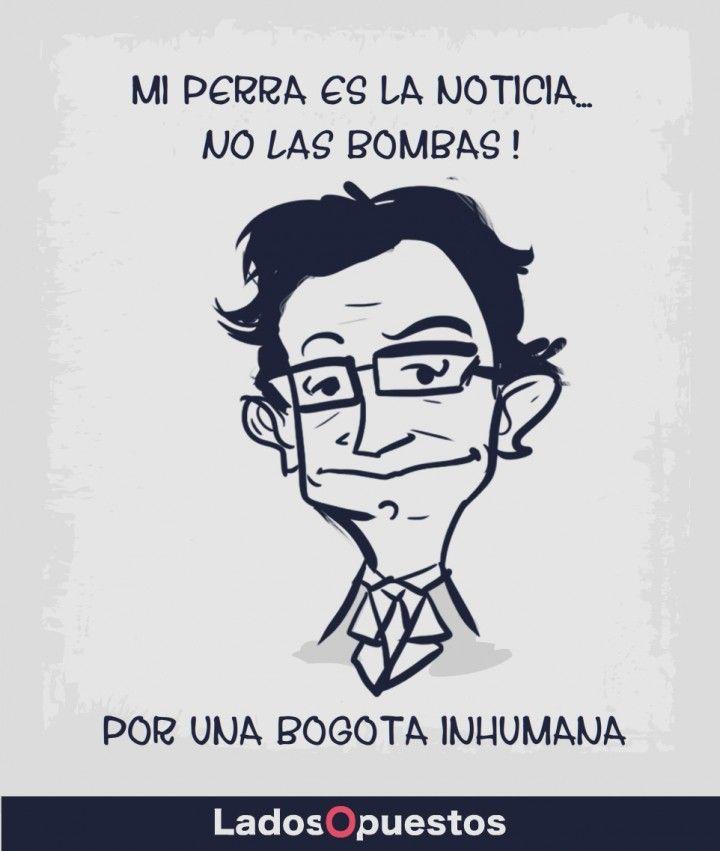 El alcalde Petro y la noticia de las bombas en Bogotá Ladosopuestos noticias colombia Lados Opuestos
