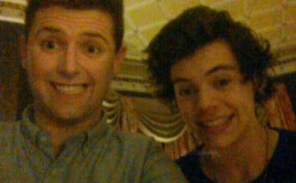 #NEW Harry and a friend in Belfast last night!