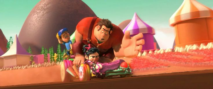 "Scenes I contributed animation to in Disney's ""Wreck-It Ralph"".  © Walt Disney Animation Studios"