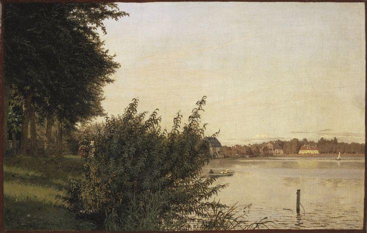 Dosseringen seen toward Österbro (Christen Købke) - Nationalmuseum - 22578.tif