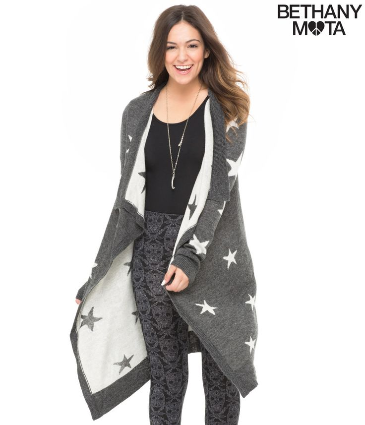 Star Cascade Cardigan - Aeropostale expensive, but i think it might be a favorite $38      like it for back to school 2014-2015