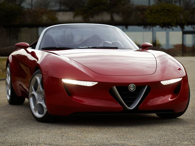 Holy Fuoco! This is what the new Mazda platform-based Alfa Romeo roadster could look like: