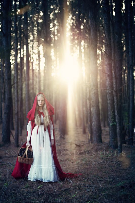 { Little Red Riding Hood } » Southern Expressions Photo
