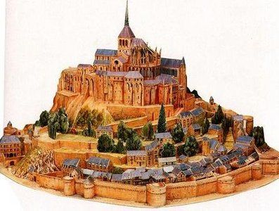 Detailed Architectural Paper Model (A10)