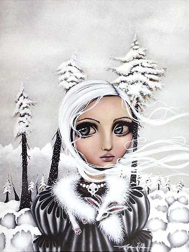 { Eirwen } Angelina Wrona style snow goddess? #angelinawrona