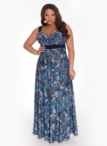 Prev Next      Play video  CLICK FOR LARGER IMAGE [+] Katsia Plus Size Maxi Dress $185.00 1 review(s) 