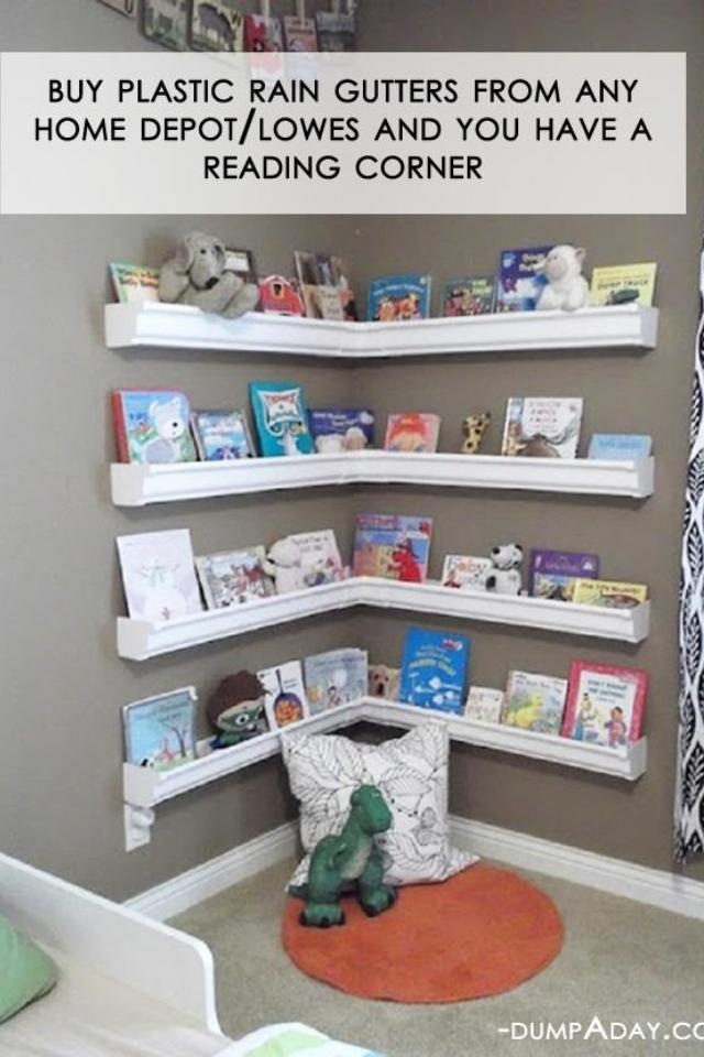 Reading Nook In Child S Room For Inexpensive Use Rain