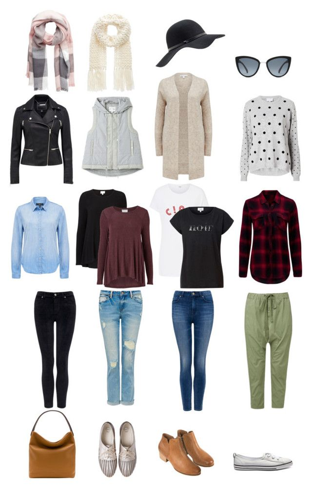 Stay At Home Mama Capsule Wardrobe by rubyandlilli on Polyvore featuring Witchery and Quay