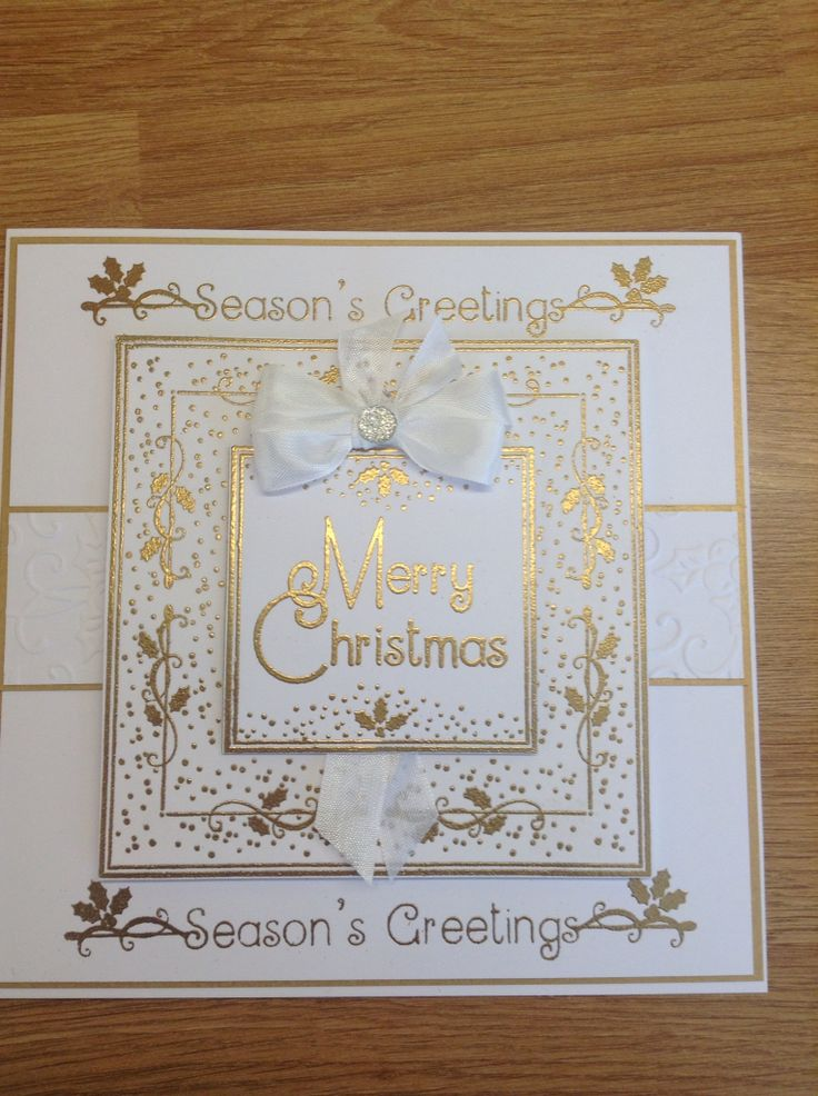 Made using Phill Martin's fab new stamps and gold embossing powder
