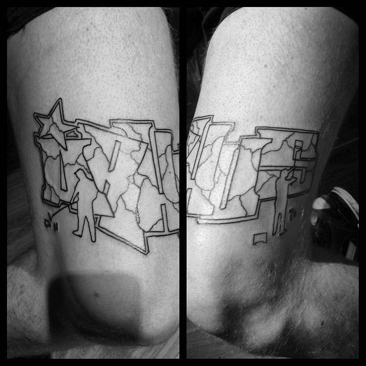 cool Top 100 graffiti tattoos - http://4develop.com.ua/top-100-graffiti-tattoos/