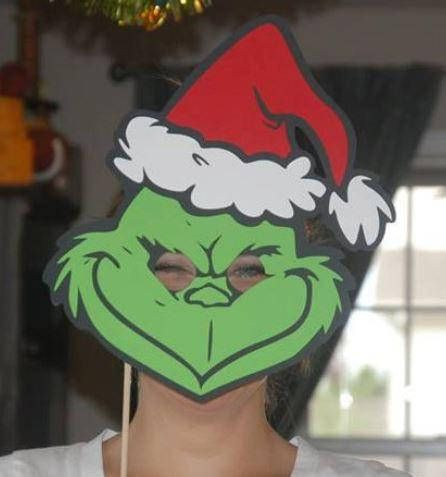 Exhilarating image throughout grinch mask printable