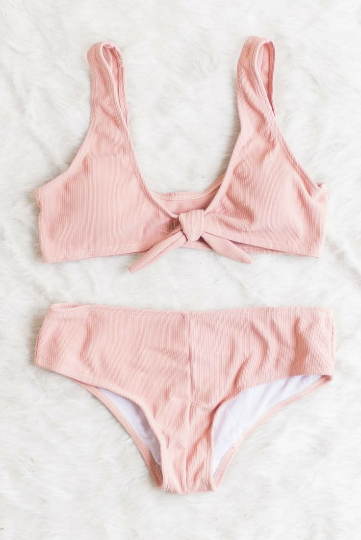 744cd4ddef69d pink, light, cheeky, boy shorts, bikini, two piece, high waist, 90s ...