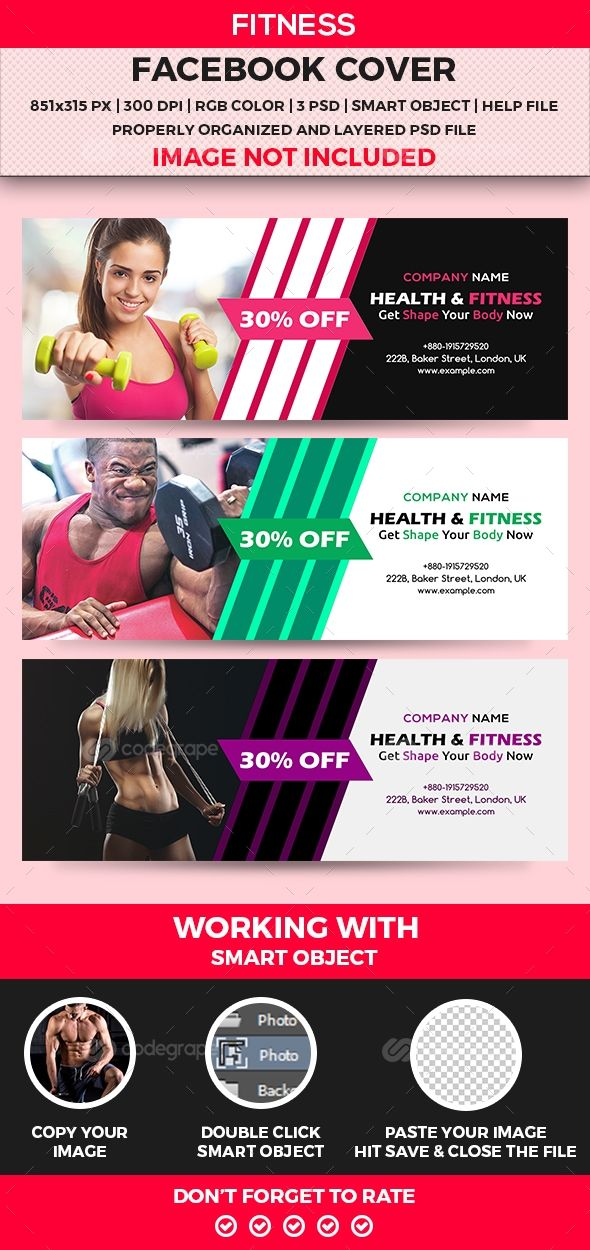 Fitness Facebook Cover on @codegrape. More Info: https://www.codegrape.com/item/fitness-facebook-cover/11013